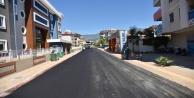 Oba#039;daki Maki Sokak asfaltlanıyor