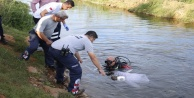Sulama kanalında ceset bulundu