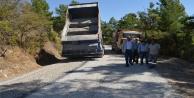 Akseki Çimi yolu asfaltlanıyor