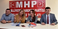 MHP#039;li kadın kolları görev dağılımı yaptı
