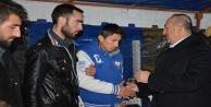 Çavuşoğlu#039;ndan şehit ailesine ziyaret