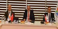Vali, OSB'nin toplantısına katıldı