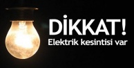 Alanya#039;da elektrik kesintisi var