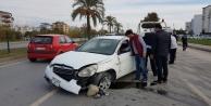 Alanya yolunda kaza: 1 yaralı var