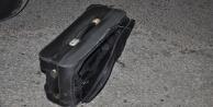 Boş valiz polisi alarma geçirdi