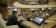 Büyükşehir Meclisinin yeni salonu dualarla açıldı