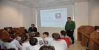 Öğrencilere diş sağlığının önemi anlatıldı