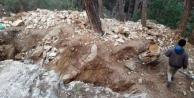 Alanya#039;da define avcılarına suçüstü