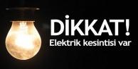 Alanya#039;da elektrik kesintisi var!