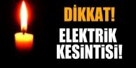 Alanya#039;da elektrik kesintisine dikkat