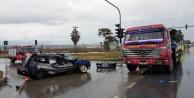 Alanya yolunda kaza: 2#039;i ağır 3 yaralı var