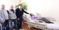 Büyükşehirden hasta yatağı yardımı