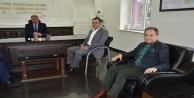 Kaymakam Harputlu#039;ya hoşgeldin ziyareti