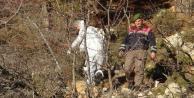 Parçalanmış erkek cesedi bulundu