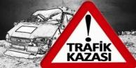 Trafik kazası: 2'si ağır 3 yaralı