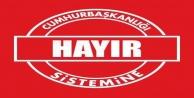 Vatan#039;dan Cumhurbaşkanlığı sistemine hayır kampanyası