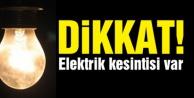 AEDAŞ#039;tan elektrik kesintisi uyarısı