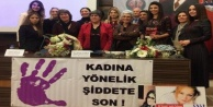 Alanya#039;dan aile içi şiddete tepki