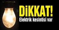 Alanya#039;ya elektrik kesintisi uyarısı!