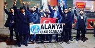 Alanyalı Ülkücüler İzmir#039;e çıkarma yaptı