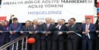 Antalya İstinaf Mahkemesi binası hizmete girdi