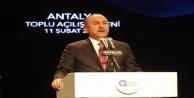 'Antalya'ya yapılan yatırımlar rekordur'
