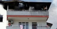 Apartman yangını büyük paniğe neden oldu