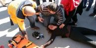 Gazeteci kaza geçirdi durumu kritik