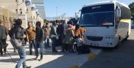 172 göçmen yakalandı şehirden gönderildi