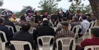 AK Partili Çelik Alanyalılarla buluştu