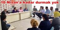 Alanya AK Parti'den kritik toplantı