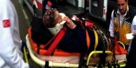 Alanya#039;da kaza: 1 yaralı var