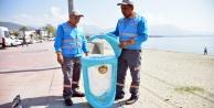 Alanya'nın yeni çöp kovaları görücüye çıktı