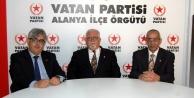 Alanya Vatan Partisi Ankara yolcusu