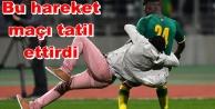 Alanyasporlu futbolcuya taraftar saldırdı