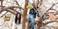 Anasınıfı öğrencilerinden 'Kuş Kafesi projesi