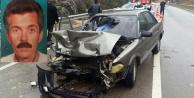 Araba TIR'a çarptı: 1 Ölü