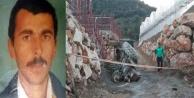 Beton yüklü traktörün altında kalan sürücü öldü