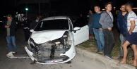 Bir gecede 3 kaza 4 yaralı