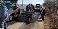 Bozöyük ve Zümrütova#039;ya sıcak asfalt