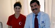 Milli sporcu Alanya#039;da tedavi gördü