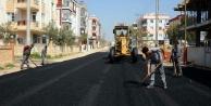 O mahallenin asfaltı yenileniyor