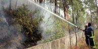 Orman yangını büyük panik yarattı