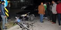 Yine motosiklet kazası: 2 yaralı var
