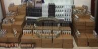 1 milyon liralık kaçak elektronik sigara ele geçirildi