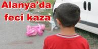 5 yaşındaki çocuğa araba çarptı