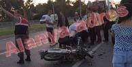 Alanya#039;da feci motosiklet kazası