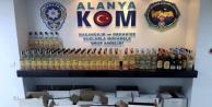Alanya#039;da kaçak içki baskını