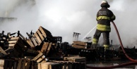 Alanya#039;da şok! Halde yangın çıktı
