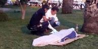 Alanya#039;da şok! Parkta ölü bulundu